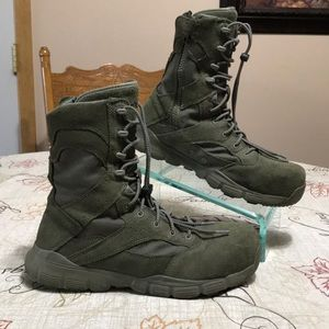 Reebok Rapid Response Military Leather Boots 9.5